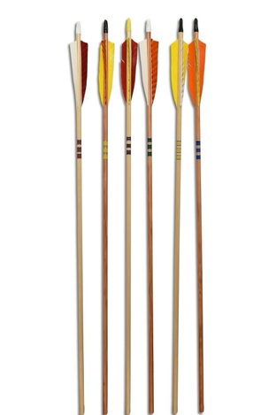 "Poc - Bearpaw Arrows Wood Cedar 32"" Premium 12/Pk"