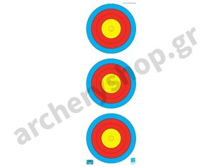 JVD Target Face Fita 3X20 cm. Vertical Compound