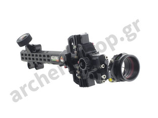 Axcel Sight AccuTouch Pro Slider Carbon with Scope Single Pin