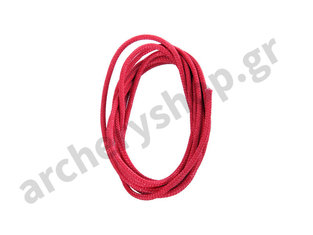 BCY D-Loop Rope 0,060 Red Braided Polyester 1 meter'