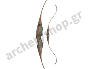 "White Feather Fieldbow One Piece Lapwing RH 60"" Black"