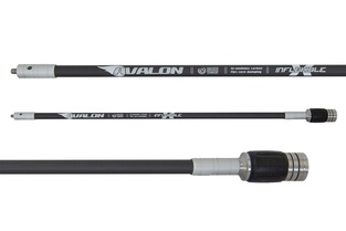 Avalon Stabilizers Carbon Long Rod Tec X 16mm 'Inflexible' Hi-Mod Double Core W/ Damper