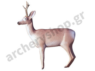 Eleven Target 3D Deer Dark with Horns