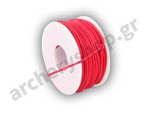BCY D-Loop Rope 0,060 Red Braided Polyester 100 Feet - 30 meter'