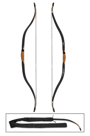 "Buck Trail Horsebow Flint Black 48"" Ambidextrous / D-75 String Incl"