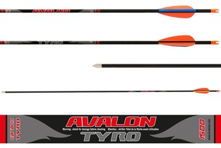 Avalon Arrows Carbon Tyro 4.2 Ep 23/ In-Nock Sml