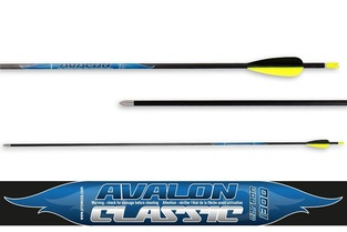 Avalon Arrows Carbon Classic 4.2 Ep 23/Pin Nock Break-Off Separate