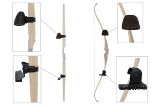 Buck Trail Two Piece Adjustable Strap-On Bow Quiver