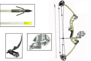 BowFishing Kit - Muzzy Compound Bow Vice